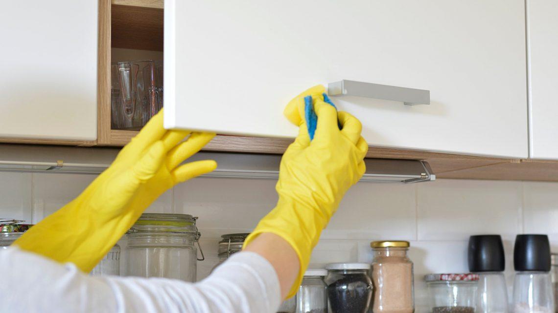 Une jolie cuisine passe aussi par le nettoyage !